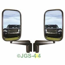 Defender Door Wing Mirrors Pair With Arms Fits 90 110 & Series - MTC5217