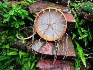 Shaman Drum 14 inch diameter Deer Rawhide including Beater