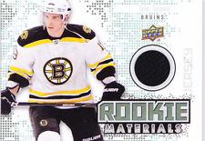 10-11 Upper Deck Tyler Seguin Jersey Rookie Materials Bruins 2010