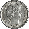 1907-P Barber Dime Great Deals From The Executive Coin Company