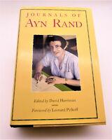 Rand, Ayn; Harriman, David; Pe... Journals of Ayn Rand + Pb Anthem LIKE NEW