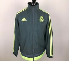 Real Madrid 2015/2016 ADIDAS Football Track Jacket Men's Size M Tracksuit Top