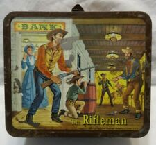 The Rifleman Lunchbox Vintage 1960 North Fork Western Chuck Conners