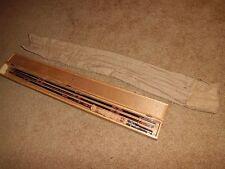 Vintage 5 pc Japanese Split Bamboo Fly/Cast 8' Rod
