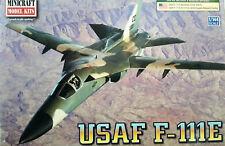 1/144 Scale Minicraft Models 'USAF F111E' Kit #14650