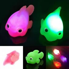 Bathroom LED Light Kids Toys Water Induction Waterproof Tub Bath Time Fun 2PCS