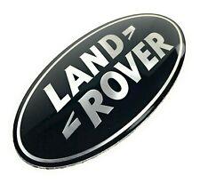 Land Rover Discovery Range Rover Sport Velar Front Grill Emblem Black Oval Badge