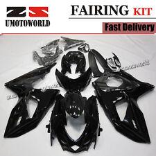 ABS Fairing Kit Fits Suzuki GSXR1000 K9 2009-2015 K9 Black Long-Lasting UV Coat
