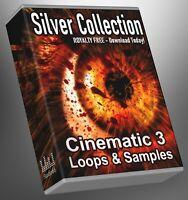 Cinematic Loops Silver Collection Part 3 Cubase Reason Presonus Ableton FLStudio