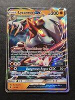 Lycanroc GX - SM Guardians Rising 74/145 - Half-Art Holo Rare Pokemon Card MINT