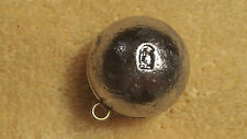 25pcs.6oz. cannon ball sinkers, weights, fishing, lead