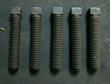 """Steel Square Head Set Screws, Cup Point 3/8""""-16 x 2""""  73 Pieces NEW"""