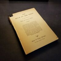 THE BUCK IN THE SNOW by Edna St. Vincent Millay 21st Edition - 1943 Poetry