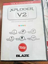 XPLODER V2 PS2 Ultimate Games Cheat System PlayStation 2 Blaze Gaming