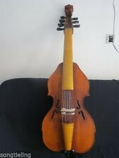 "Carved Baroque Style SONG master 7x7 strings 25 1/2 "" viola da gamba #11102"