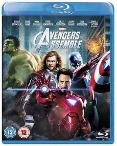 Avengers Assemble (Robert Downey Jr) Blu Ray New/Sealed Fast Free Postage