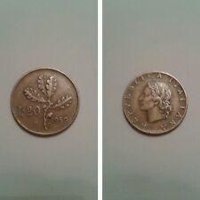 Rara 20 lire 1959 ramo di quercia ottimo...ID27