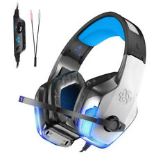 LED Gaming Headset Chat Headphone Universal For PS4 Xbox PC Laptop Mac PSP iPad