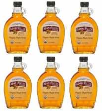 Maple Valley 12 oz Grade A Amber & Rich Organic Maple Syrup - 6 PACK