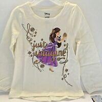 Disney Toddler Girl Shirt 4T The Nutcracker Ballerina Ivory Long Sleeve New