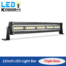 450W 22inch Led Light Bar Tri-Row Combo Work Driving Ute Truck Suv 4Wd Boat 24'
