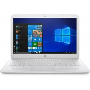 HP Stream 14  Laptop Intel Celeron N4000 4GB RAM 32GB eMMC Snow White - Intel Ce
