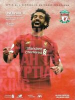 Liverpool v Manchester United 19th January 2020 Match Programme 2019/2020