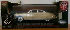 1:18 Diecast Highway 61 1952 Hudson Hornet Club Coupe Tan & Brown MIB 50129