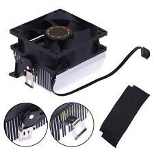 80mm Silent DC 12V la refrigeración de la CPU Disipador Térmico Del Ventilador Radiador Enfriador Para AMD 754 939 940