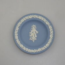 Vintage Wedgwood Jasperware Miniature Plate Australian Pink Heath Ltd Edition