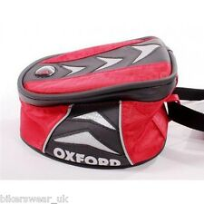 OXFORD X1 Micro Tankbag Red Lifetime Motorcycle Luggage Smallest Tank Bag 1L