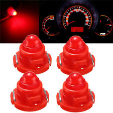 4x T5/T4.7 Neo Wedge LED Bulb Dash Dashboard Gauge Cluster Instrument Light Red