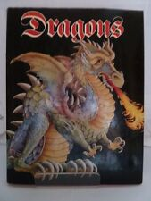 DRAGONS by PETER HOGARTH with VAL CLERY 1979 COLOUR ILLUSTRATED WITH DUSTJACKET