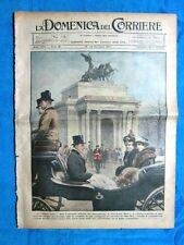 La Domenica del Corriere 25 dicembre 1921 Mary-Lascelles - Umberto II - Nobel