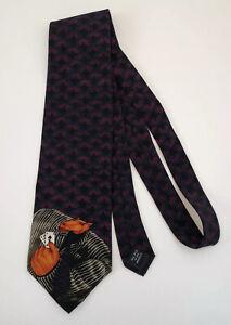 "Vintage Markus Pierson by Belle Neckwear Necktie ""A Sure Bet"" 90's RARE"