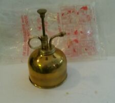 Vintage Brass Plant Mister Water Sprayer With Original Package Atomizer Spritzer