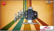 Ford Laser KA, KB, Mazda 323 BD - Fuelmiser Ignition Coil OES + NGK Spark Plugs