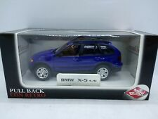 Guiloy BMW X5 4.4i.  Blue. 1/43