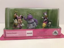 Disney Minnie Mouse Happy Helpers Figure Play Set Cake Topper Playset 6 Pieces