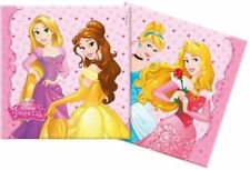 Decoración y menaje servilletas color principal rosa cumpleaños infantil para mesas de fiesta