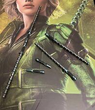Hot toys MMS460 Avengers Infinity War BLACK WIDOW 1/6th Scale SHORT BATONS