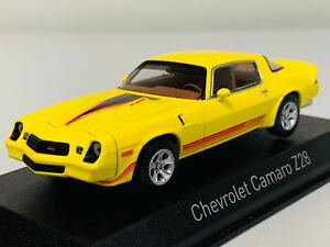 Norev Chevrolet Camaro Z28 1980 Yellow/Orange 1/43 900017 1220