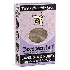 Beessential All Natural Honey & Lavender Small Batch Bar Soap