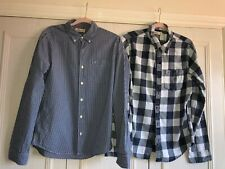 2 MENS HOLLISTER SHIRTS SIZE MEDIUM M - BARELY WORN