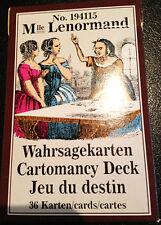 Tarot divinatoire Le Petit Melle Lenormand (voir description)
