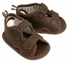 Baby Boys Brown Sandals Shoes Size 1 / 3-6 Months