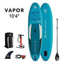 2021 Aqua Marina Vapor Inflatable Stand Up Paddleboard 10'4'' board w/ paddle