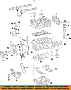Mercedes MERCEDES-BENZ OEM 2015 GLA250 Camshaft Cam-Front Cover Seal 0169970146