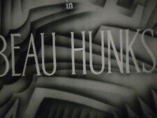 16mm Beau Hunks Laurel and Hardy 400'