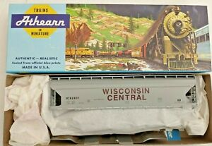 HO scale Athearn 55' Wisconsin Central ACF center flow hopper  kit vintage